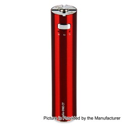 Authentic Joyetech eGo ONE CT 2200mAh XL Battery - Cherry Red, Stainless Steel