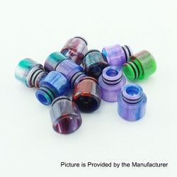 Demon Killer 510-A Drip Tip for E-cigarette Atomizers - Random Color, Resin, 13mm