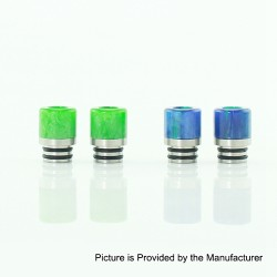 Demon Killer 510-B Drip Tip for E-cigarette Atomizers - Random Color, Resin, 16mm
