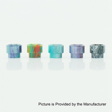 Demon Killer 528-A Drip Tip for Goon RDA / Goon RTA / Lost Art Goon RDA - Random Color, Resin, 13mm