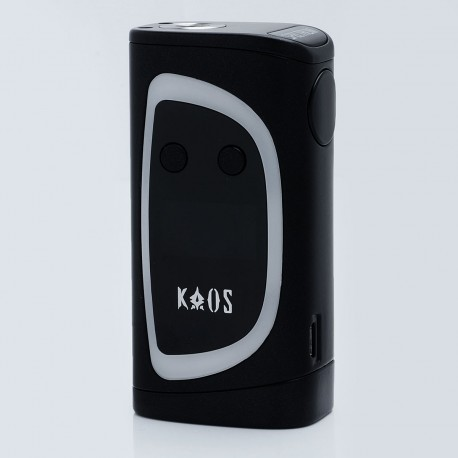 Authentic Sigelei Kaos Spectrum 230W TC VW Variable Wattage Mod - Black, Zinc Alloy, 10~230W, 2 x 18650