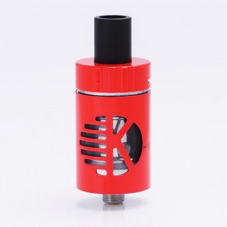 Authentic KangerTech Kanger CLTANK 2.0 Clearomizer - Red, Stainless Steel, 2ml, 22mm Diameter