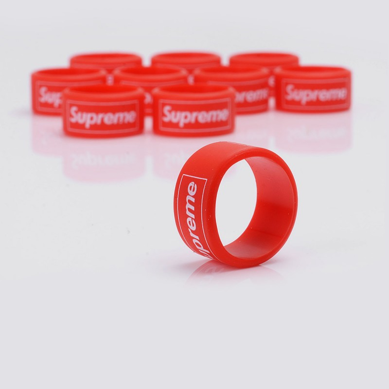 Authentic Vapethink Steam Shark Supreme Pattern Red Vape Band