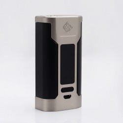 Authentic Wismec Predator 228 228W TC VW Variable Wattage Box Mod - Silver, 1~228W, 2 x 18650, 100~315'C / 200~600'F