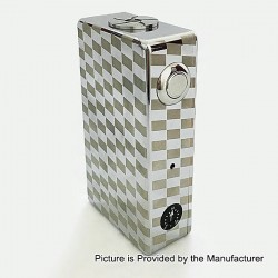 Ares 280W Style VV Variable Voltage Box Mod - Silver, Aluminum Alloy, 3.5~8.0V, 2 x 18650