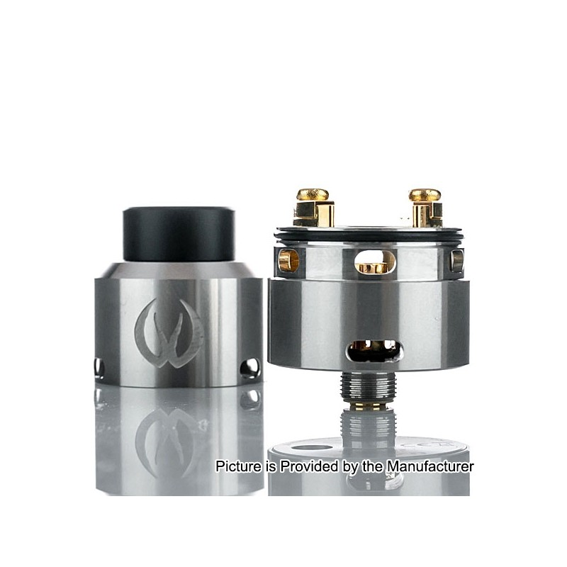 Authentic Vandy Vape Govad Rda Silver Ss 24mm Rebuildable