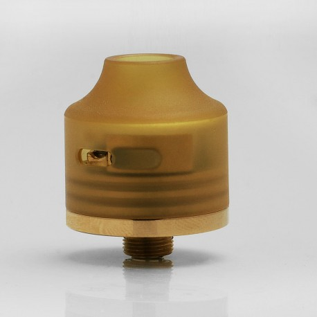 Authentic Oumier Wasp Nano Mini RDA Rebuildable Dripping Atomizer - Gold, Brass, 22mm diameter