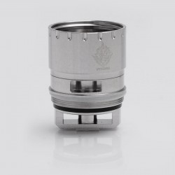 Authentic SMOKTech SMOK V12-RBA 25mm Deck RBA Coil Heads for SMOK TFV12 Cloud Beast King Tank - Silver