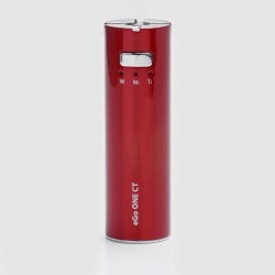 Authentic Joyetech eGo ONE CT 1100mAh Battery - Cherry Red, Stainless Steel