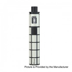 Authentic Joyetech eGo ONE TFTA 2300mAh Battery Starter Kit - White + Black, 2ml, 0.6 Ohm (15~30W)