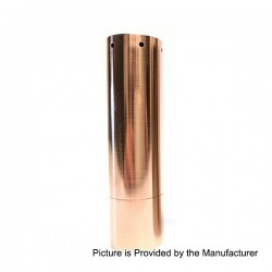 Kennedy Roundhouse V2 24 Style Mechanical Mod - Copper, Copper, 1 x 18650