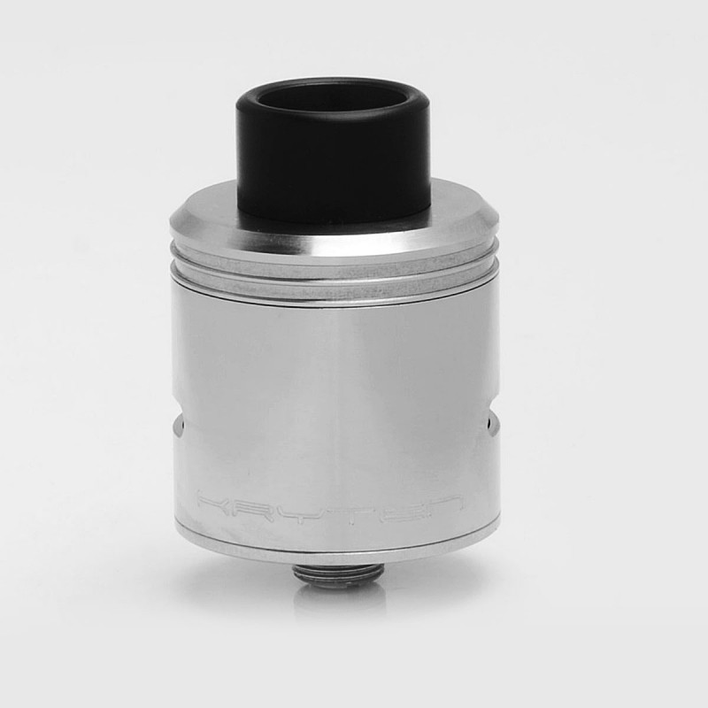 ShenRay Kryten Style RDA Rebuildable Dripping Atomizer Bottom Feeder Pin - Silver, 316 Stainless Steel, 24mm Diameter