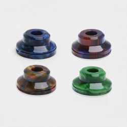Replacement Drip Tip for Coolvapor Lava RTA Atomizer - Random Color, Resin, 11mm