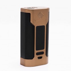 Authentic Wismec Predator 228 228W TC VW Variable Wattage Box Mod - Golden, 1~228W, 2 x 18650, 100~315'C / 200~600'F