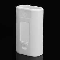 Authentic Vapesoon Protective Case Sleeve for Wismec Predator 228 Mod - White, Silicone