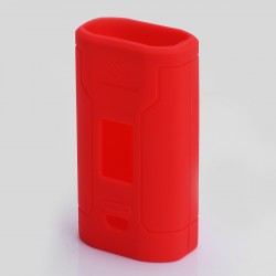 Authentic Vapesoon Protective Case Sleeve for Wismec Predator 228 Mod - Red, Silicone