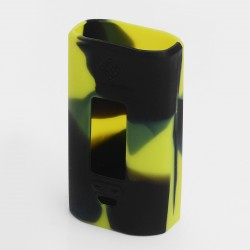Authentic Vapesoon Protective Case Sleeve for Wismec Predator 228 Mod - Black + Green, Silicone