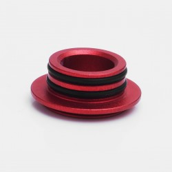 510 Drip Tip Adapter for SMOK TFV12 / TFV8 Tank / TFV8 Big Baby Tank Clearomizer - Red, Aluminum