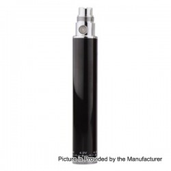 Authentic SMOKTech Smok eGo Winder 650mAh Variable Volt Battery - Black, 3.2~4.8V
