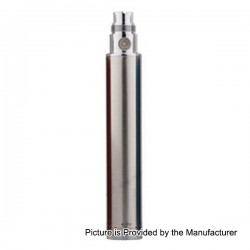 Authentic SMOKTech Smok eGo Winder 650mAh Variable Volt Battery - Silver, 3.2~4.8V