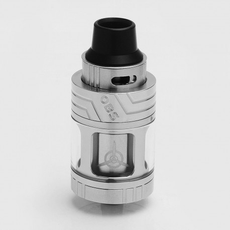 Authentic OBS Engine SUB Mini Tank Clearomizer - Silver, Stainless Steel + Glass, 3.5ml, 0.2 Ohm, 23mm Diameter