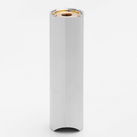 SXK Praxis Style 510 Mechanical Mod - Silver, Stainless Steel, 1 x 18650