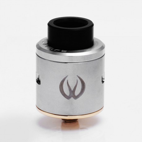 Authentic Vandy Vape ICON RDA Rebuidlable Dripping Atomizer w/ BF Pin - Silver, Stainless Steel, 24mm Diameter