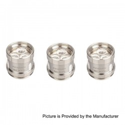 Authentic Innokin Dual Vertical Coil Head for Scion Tank Atomizer - Silver, Stainless Steel, 0.28 Ohm (100~200W) (3 PCS)