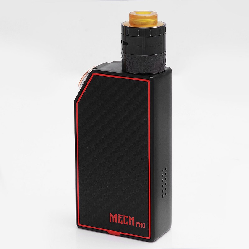 Authentic GeekVape Mech Pro Black Mechanical Mod Medusa Kit