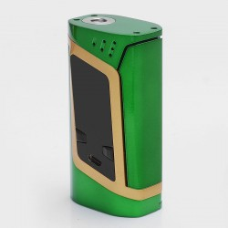 Authentic SMOKTech SMOK Alien 220W TC Temperature Control VW Variable Wattage Box Mod - Green + Gold, 6~220W, 2 x 18650