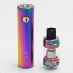 Authentic SMOKTech SMOK Stick V8 2000mAh Battery + TFV8 Baby Tank Kit - Rainbow, 3ml, 0.15 Ohm, 22mm Diameter, Standard Edition