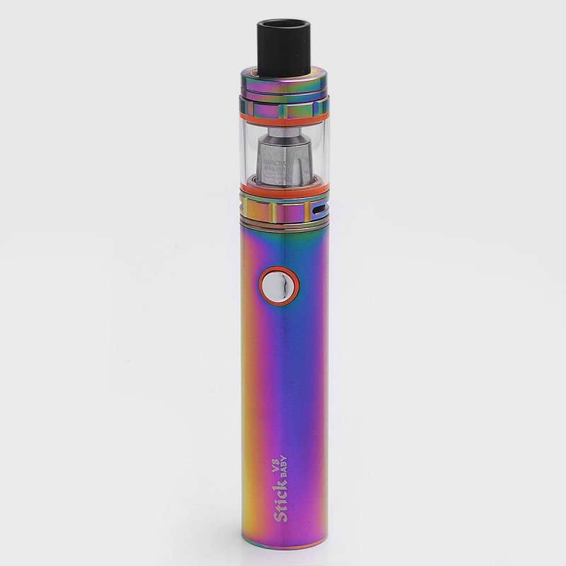 Authentic Smok Stick V8 2000mah Rainbow Battery Tfv8 Baby