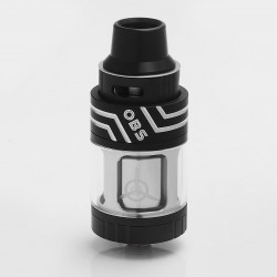 Authentic OBS Engine SUB Mini Tank Clearomizer - Black, Stainless Steel + Glass, 3.5ml, 0.2 Ohm, 23mm Diameter