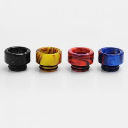 Replacement Drip Tip for Goon / Kennedy / TFV8 / TFV12 / Battle RDA - Random Color, Resin, 13mm