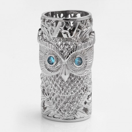 Owl of Minerva Style Replacement Sleeve for AV Able Mod - Silver, Brass