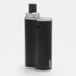 Authentic Eleaf iJust X 50W 3000mAh Battery + Atomizer Starter Kit - Black, 7ml