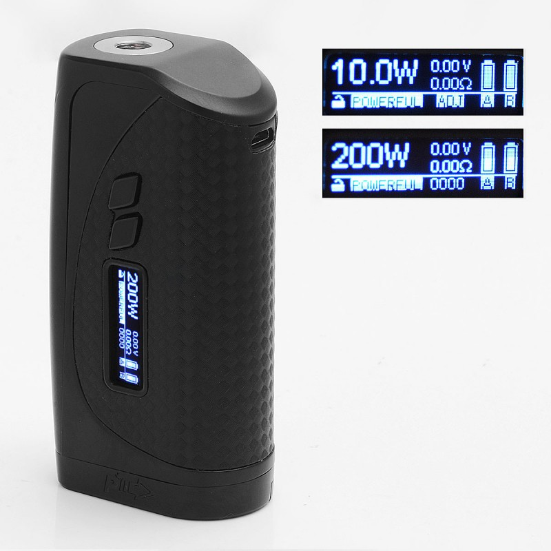 authentic pioneeryou ipv vesta  black tc variable wattage box mod