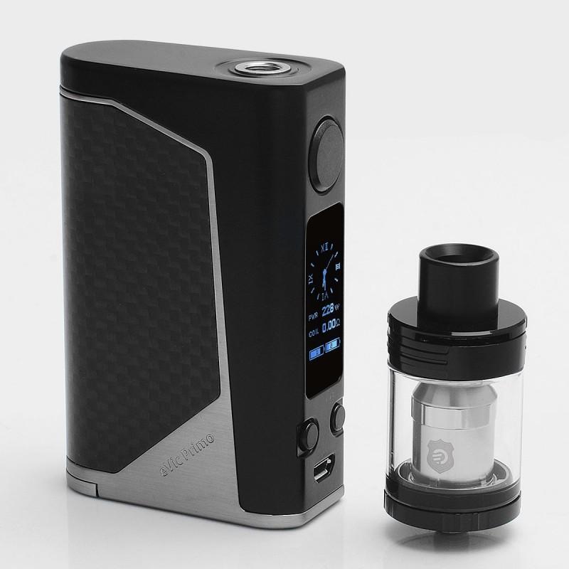 Authentic Joyetech eVic Primo 2 0 Black Silver Mod with UNIMAX 2