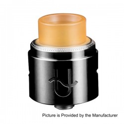 Authentic Wotofo Serpent BF RDA Rebuildable Dripping Atomizer - Black, Stainless Steel, 22mm Diameter