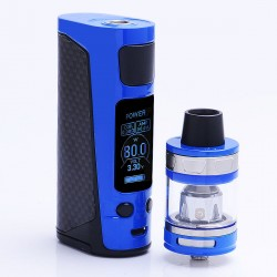 Authentic Joyetech eVic Primo Mini 80W TC VW Mod with ProCore Aries Atomizer Starter Kit - Blue, 1~80W, 4ml, 1 x 18650