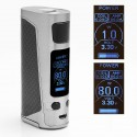 Authentic Joyetech eVic Primo Mini 80W TC VW Variable Wattage Mod - Silver, 1~80W, 1 x 18650, 100~315'C / 200~600'F