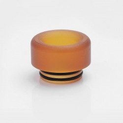 Replacement Drip Tip for Goon / Kennedy / SMOK TFV8 / TFV12 / Battle RDA - Brown, PEI, 12mm