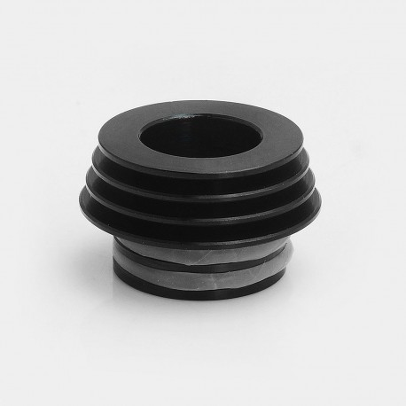 810 to 510 Heat Dissipation Drip Tip Adapter for RDA / RTA / Clearomizer - Black, Stainless Steel, 12.8mm Diameter