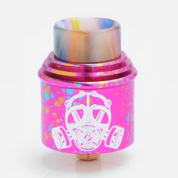 Kindbright Apocalypse GEN 2 Style RDA Rebuildable Dripping Atomizer - Red, Stainless Steel, 24mm Diameter