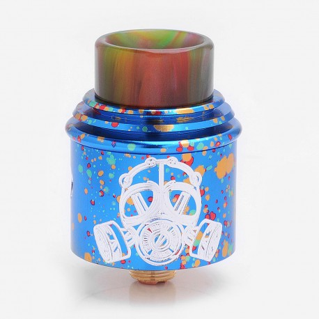 Kindbright Apocalypse GEN 2 Style RDA Rebuildable Dripping Atomizer - Blue, Stainless Steel, 24mm Diameter