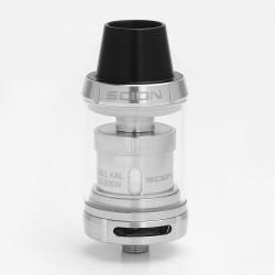 Authentic Innokin Scion Sub Ohm Tank Atomizer - Silver, Stainless Steel + Glass, 3.5ml, 0.28 Ohm, 24mm Diameter