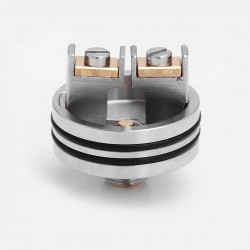 Kindbright Apocalypse GEN 2 Style RDA Replacement Deck - Silver, 316 Stainless Steel