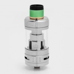 Authentic Uwell Crown 3 III Sub Ohm Tank Clearomizer - Silver, 5ml, 0.25 Ohm, 24.5mm Diameter