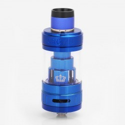 Authentic Uwell Crown 3 III Sub Ohm Tank Clearomizer - Blue, 5ml, 0.25 Ohm, 24.5mm Diameter