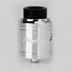 Authentic GeekVape Peerless RDA Special Edition Rebuildable Dripping Atomizer - Silver, Stainless Steel, 24mm Diameter